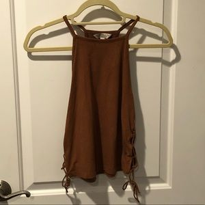 AEO Suede Tank Top